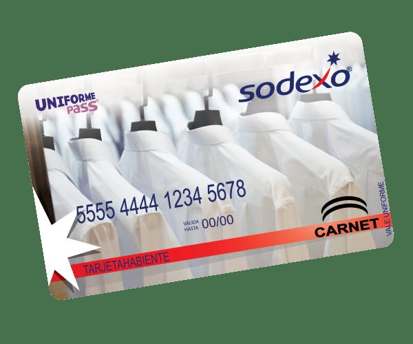Vales de Uniforme Sodexo Uniforme Pass